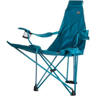 Mc Kinley Camp 300 Relax Campingstuhl dunkelblau-blau