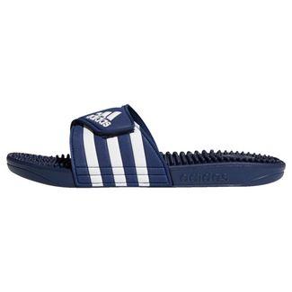 adidas Adissage Badeschlappen Sandalen Herren Dark Blue / Cloud White / Dark Blue