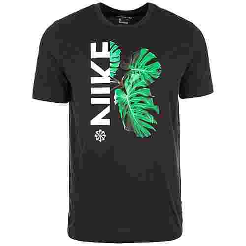Nike Dry Wild Run Laufshirt Herren schwarz