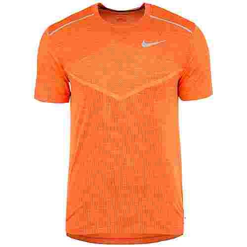 Nike TechKnit Ultra Laufshirt Herren orange