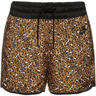 Nike NSW Shorts Damen desert ochre-black