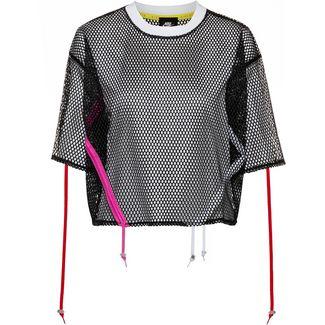 Nike NSW Croptop Damen black-white