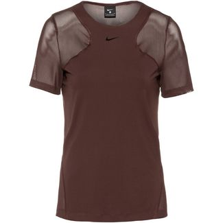 Nike Pro Funktionsshirt Damen el dorado-clear