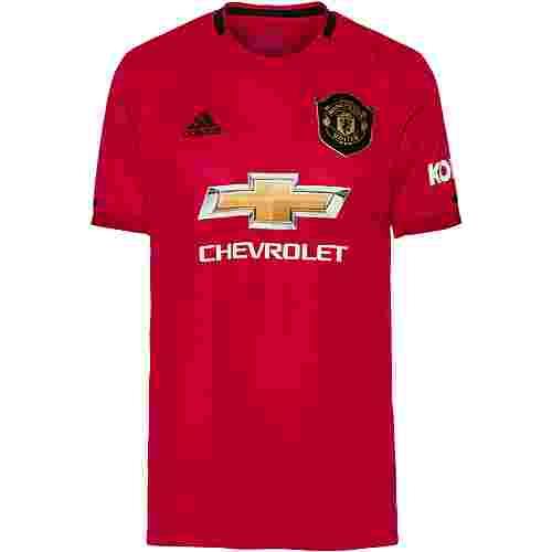 adidas Manchester United 19/20 Heim Fußballtrikot Herren real red