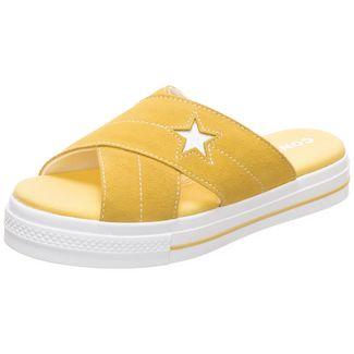 CONVERSE One Star Suede Sneaker Damen gelb / weiß
