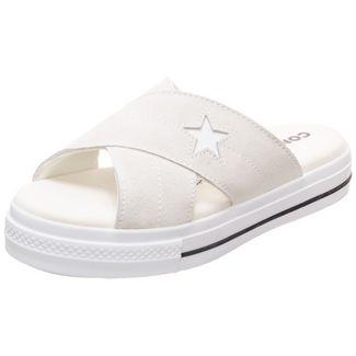 CONVERSE One Star Suede Sneaker Damen beige / weiß