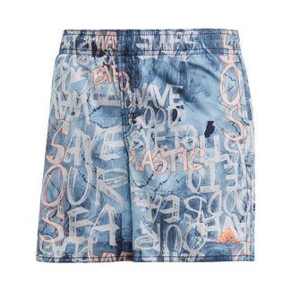 adidas Parley Badeshorts Badeshorts Kinder Glow Blue / Semi Coral