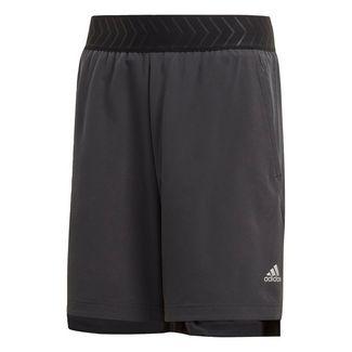 adidas Nemeziz Shorts Funktionsshorts Kinder Carbon / Black / Solar Red