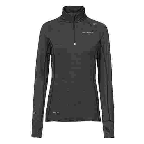 Endurance Langarmshirt Damen 1001BM Black Melange