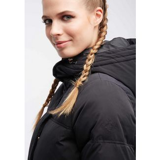 MYMO Winterjacke Damen schwarz