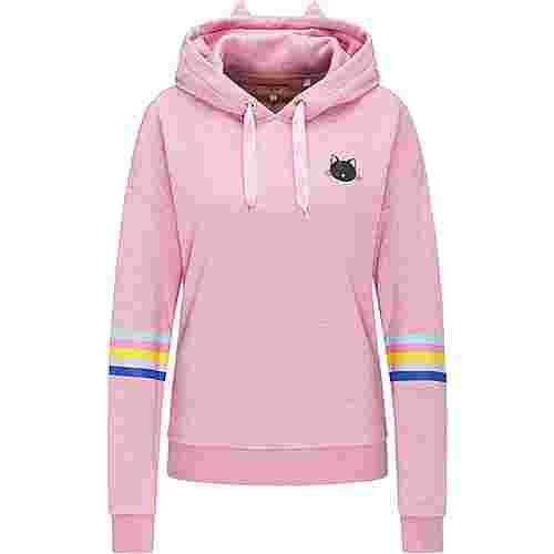 MYMO Kapuzenpullover Damen pink melange