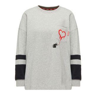 Homebase Sweatshirt Damen grau melange