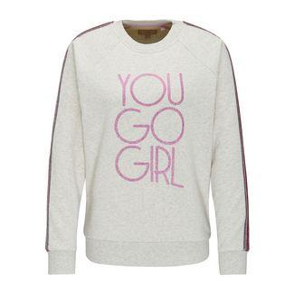 MYMO Sweatshirt Damen wollweiß melange