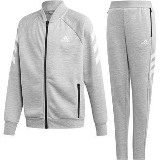 adidas Change the Future Trainingsanzug Kinder medium-grey-heather