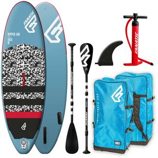 FANATIC Package Ripper Air SUP Sets Kinder blau-grau