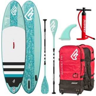FANATIC Package Diamond Air 10'4 SUP Sets Damen hellblau-weiß