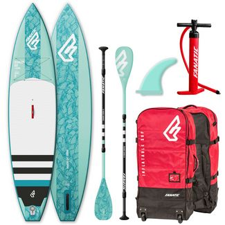 FANATIC Package Diamond Air Touring SUP Sets Damen helblau-weiß