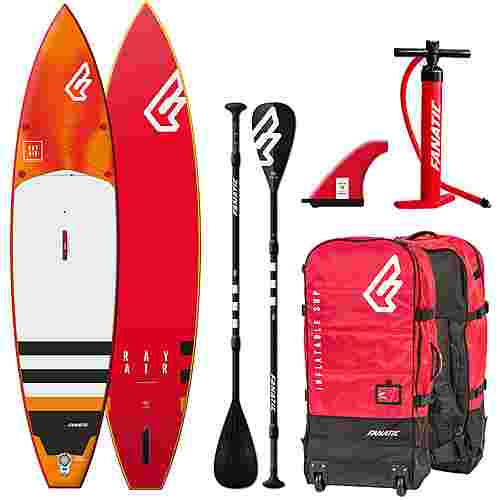 FANATIC Package Ray Air Premium 12'6 SUP Sets rot-weiß