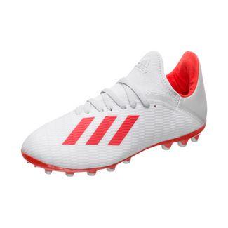 adidas X 19.3 Fußballschuhe Kinder silber / rot