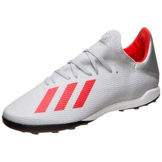 adidas X 19.3 Fußballschuhe Herren silber / rot