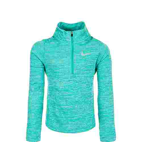 Nike Top Run Half-Zip Laufshirt Kinder türkis