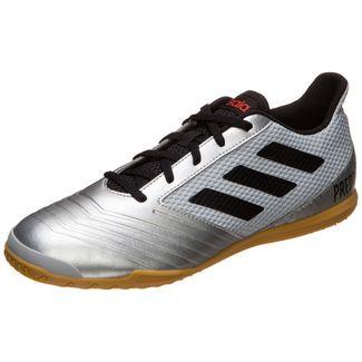 adidas Predator 19.4 Fußballschuhe Herren silber / schwarz