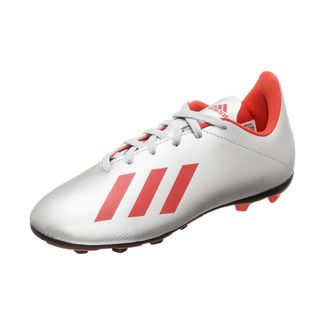 adidas X 19.4 Fußballschuhe Kinder silber / rot