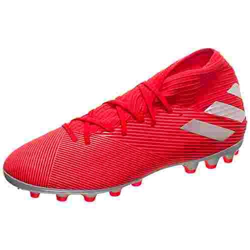 adidas Nemeziz 19.3 Fußballschuhe Herren rot / silber