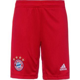 adidas FC Bayern München 19/20 Heim Fußballshorts Kinder fcb true red