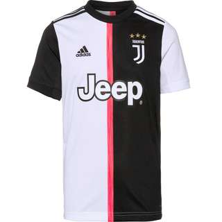adidas Juventus Turin 19/20 Heim Trikot Kinder black-white