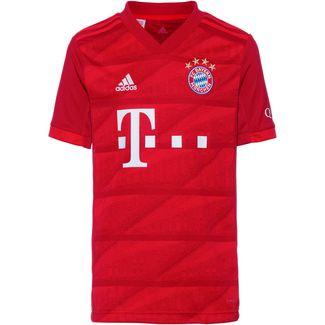 adidas FC Bayern München 19/20 Heim Fußballtrikot Kinder fcb true red