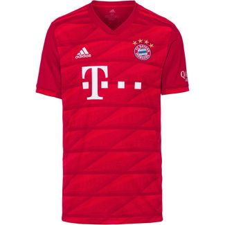 adidas FC Bayern München 19/20 Heim Fußballtrikot Herren fcb true red