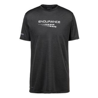 Endurance Printshirt Herren 1001 Black