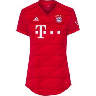 adidas FC Bayern München 19/20 Heim Fußballtrikot Damen fcb true red