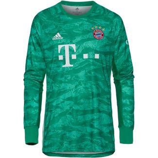 adidas FC Bayern München 19/20 Heim Fußballtrikot Herren core green