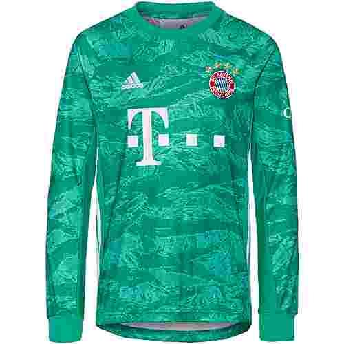 adidas FC Bayern München 19/20 Heim Fußballtrikot Kinder core green