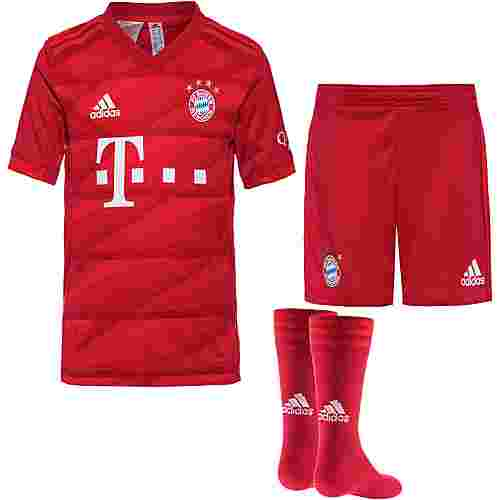 adidas FC Bayern München 19/20 Heim Minikit Babyset Kinder fcb true red