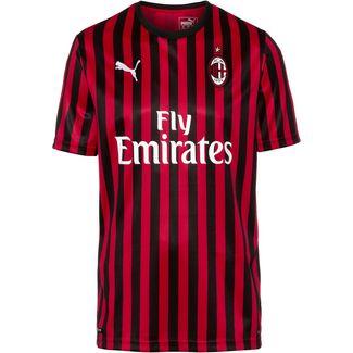 PUMA AC Mailand 19/20 Heim Fußballtrikot Herren tango red -puma black