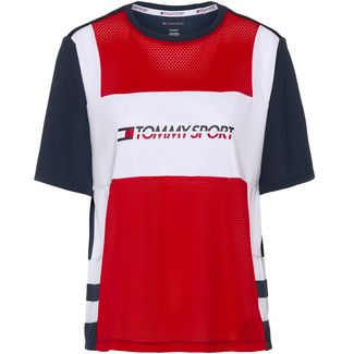 Tommy Sport T-Shirt Damen true red