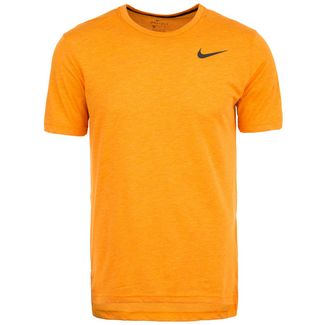 Nike Breathe Hyper Dry Funktionsshirt Herren orange