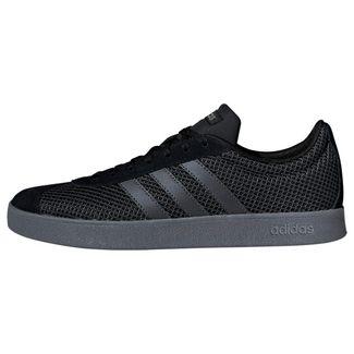 adidas VL Court 2.0 Schuh Sneaker Herren Core Black / Grey Six / Grey Four