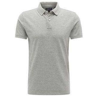 Petrol Industries Poloshirt Herren Light Grey Melee