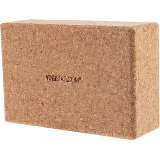 YOGISTAR.COM Big Yoga Block kork