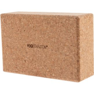 YOGISTAR.COM Big Yoga Block kork