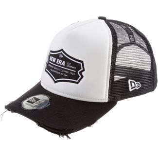 New Era Trucker A-Frame NE Cap black-white