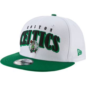 New Era 9Fifty Boston Celtics Cap optic white-kelly green