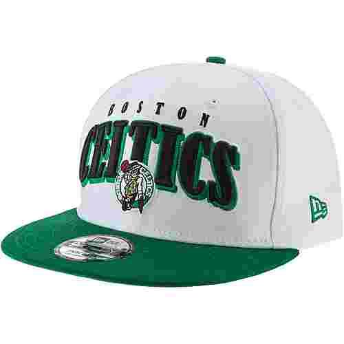 New Era 9Fifty Boston Celtics Cap optic white-kelly green