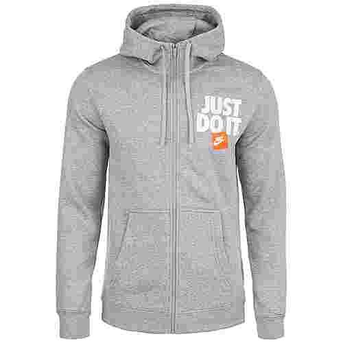 Nike Sportswear JDI Sweatjacke Herren grau