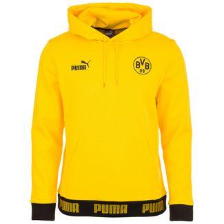 PUMA Borussia Dortmund FtblCulture Hoodie Herren gelb / schwarz