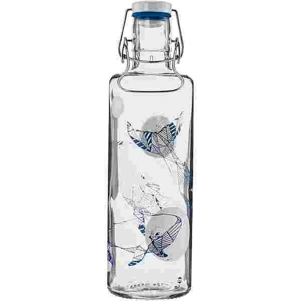 soulbottles Souldiver Trinkflasche transparent-blau